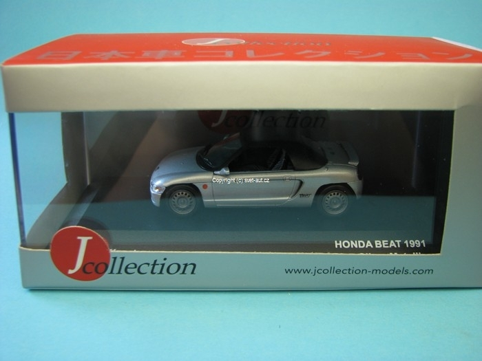 Honda Beat 1991 Silver metallic 1:43 Jcolections Models
